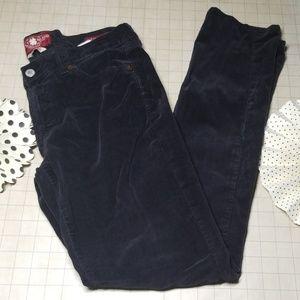 Lucky Brand Zoe Skinny Courdery Pants size 10